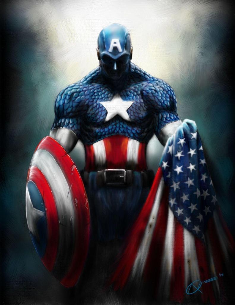 Captain America Gods Avenger Africa Boy