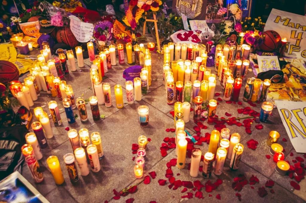 Kobe Bryant death memorial service