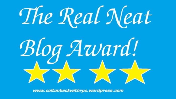 Real Neat Blogger Award
