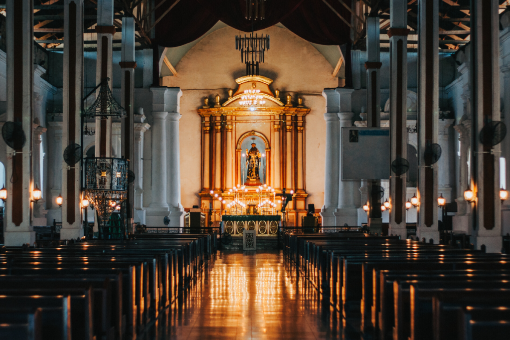 Three Popular Misconceptions About Christianity empty church